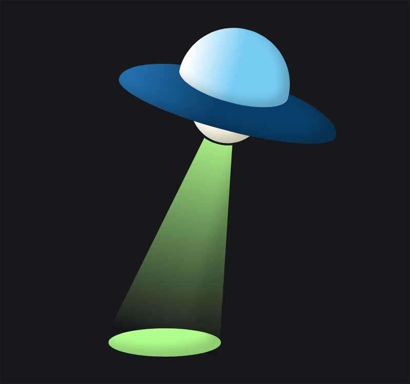 不明飞行物ufo图形特效