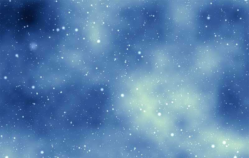 全屏的大雪飘落3D动效