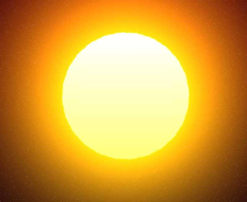 HTML5太阳升起落下动画特效