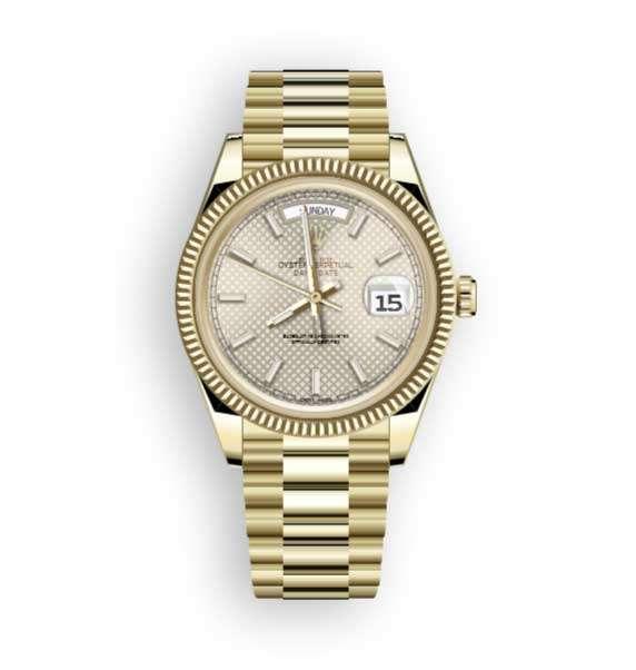 金色的劳力士手表ui特效