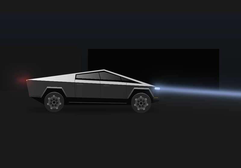 酷炫的卡通汽车行驶动画特效
