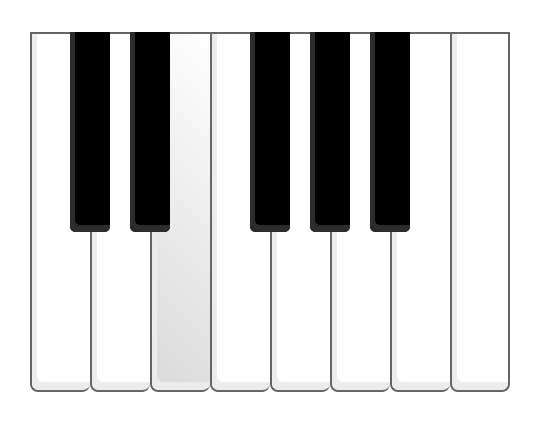 H5网页钢琴键盘音乐特效