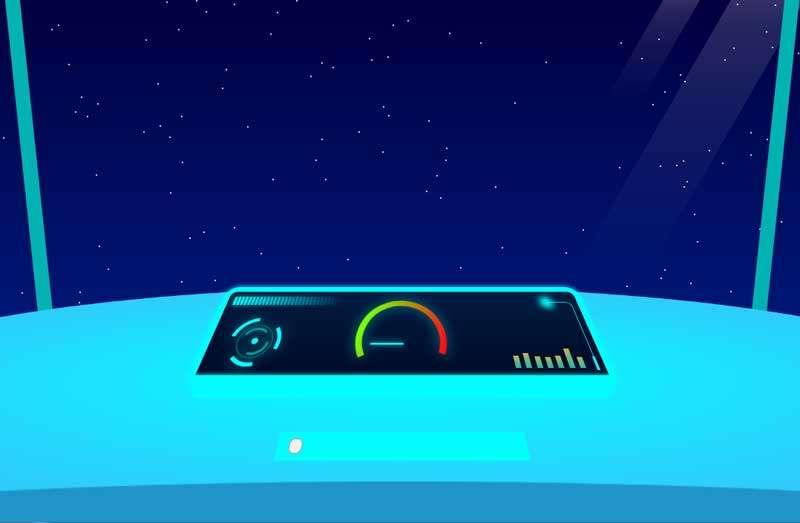 vue火箭驾驶舱动画特效
