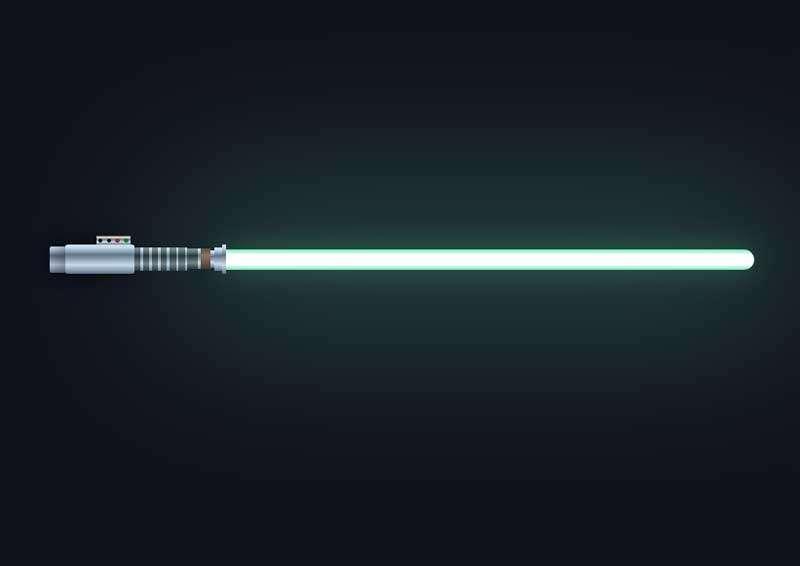 激光剑发光动画特效