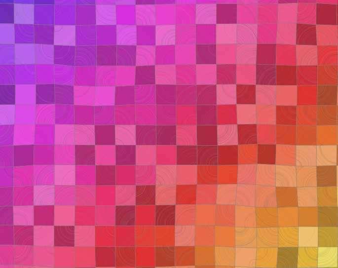 彩虹方块图案ui布局特效