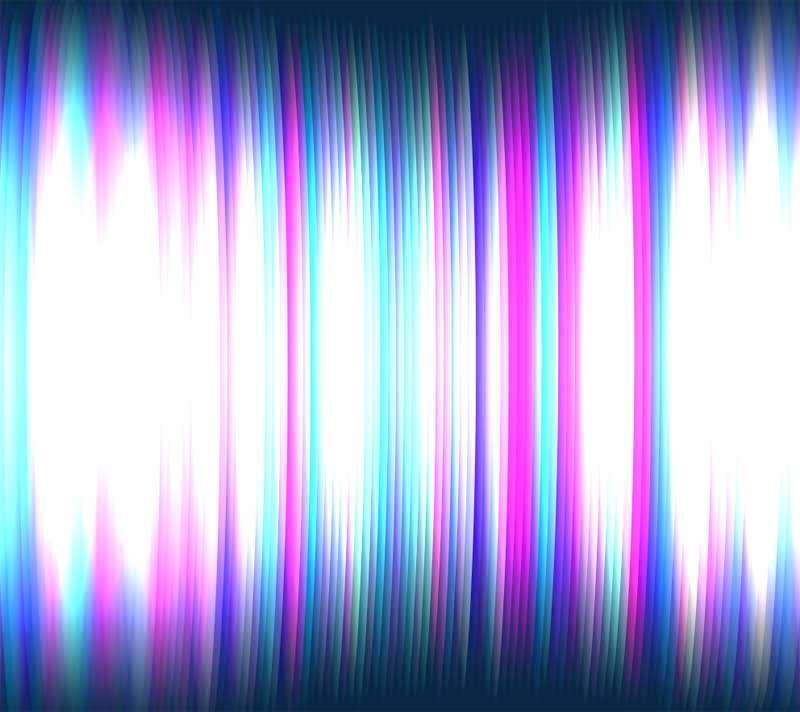 酷炫的彩色光晕背景动画特效