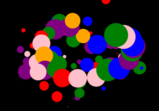 html5 canvas圆点泡泡光标动画效果