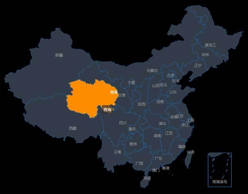 html5 echarts省市区地图城市选择代码