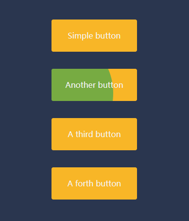 jQuery css3感知方向悬停按钮动画特效