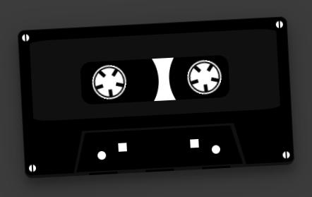 纯css3磁带播放动画特效