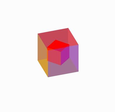 纯css3立方体旋转动画特效