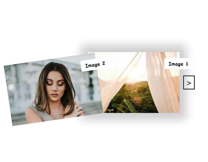 gsap相框图片层叠切换特效