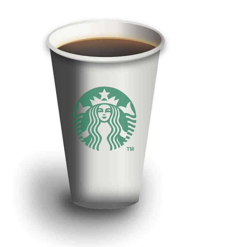 星巴克咖啡杯svg特效