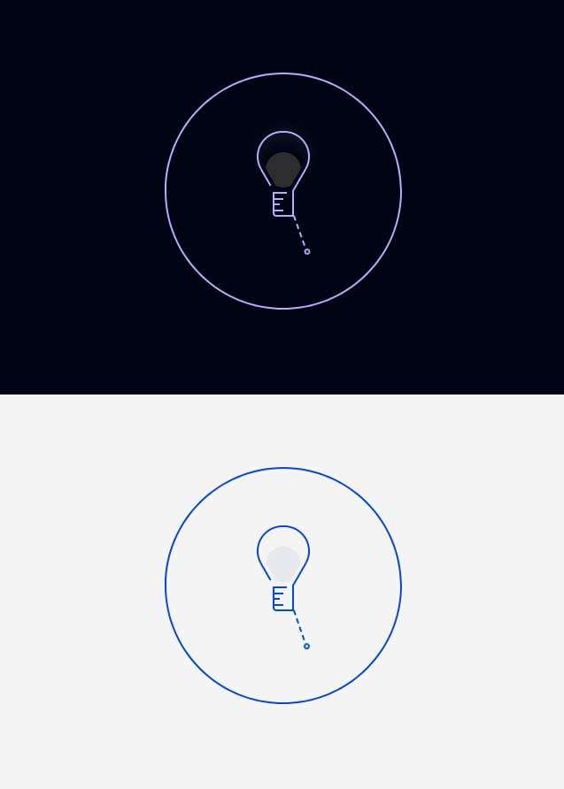 灯泡切换按钮ui交互特效