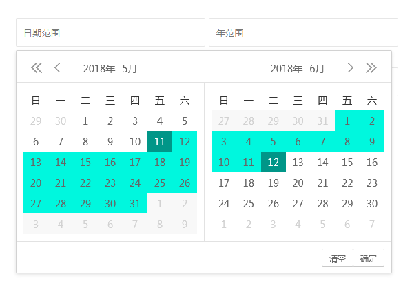 laydate - js日期时间选择插件