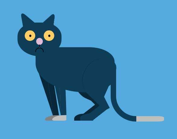 可爱的猫ui动画特效