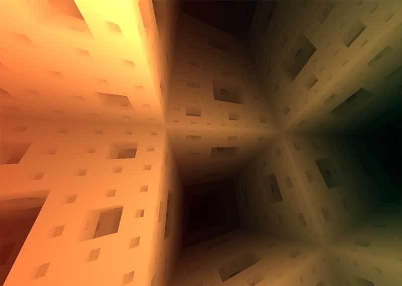 基于canvas绘制3D几何空间动画特效