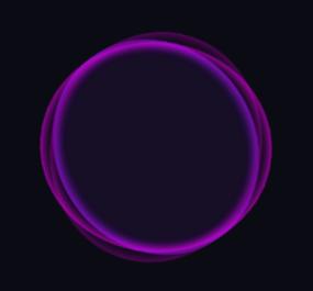 纯css3线性发光圆圈加载动画特效