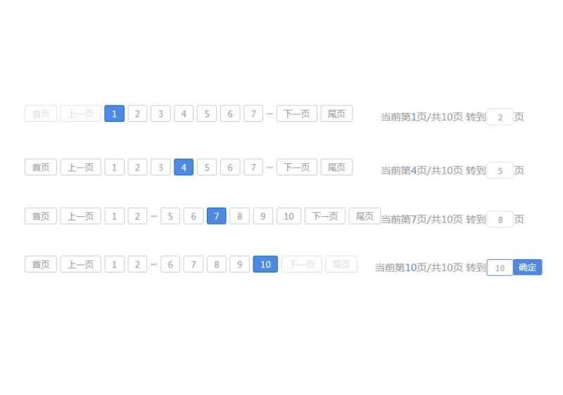 kkpager分页插件实例代码