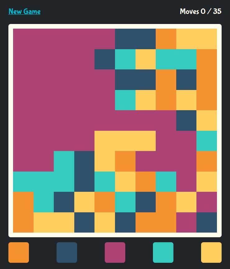 html5颜色匹配小游戏源码