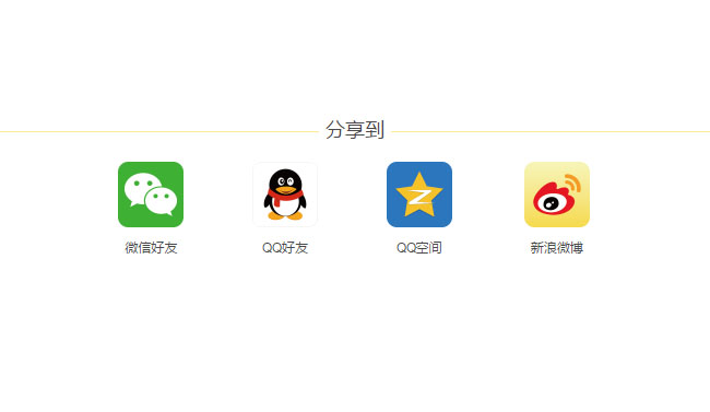 jQuery手机端QQ微信分享插件