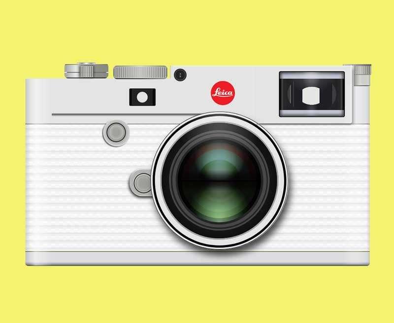 精美的数码照相机ui特效