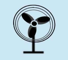 卡通旋转的风扇动画特效