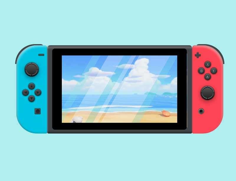 css3任天堂游戏机视频特效