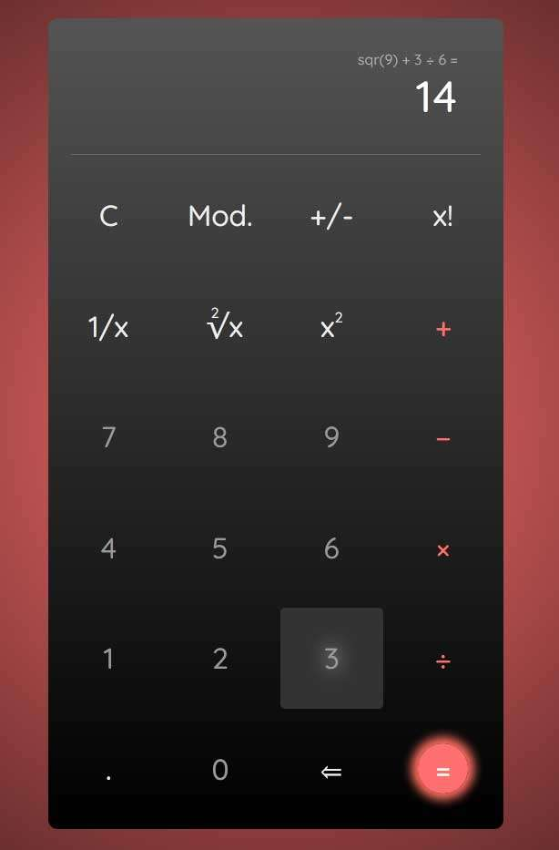 js基础计算器工具代码