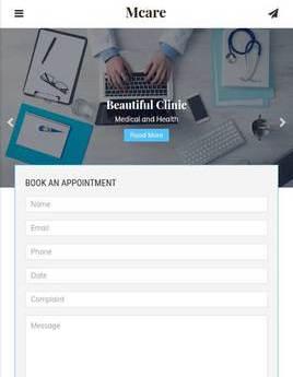 医疗保险服务手机html官网模板
