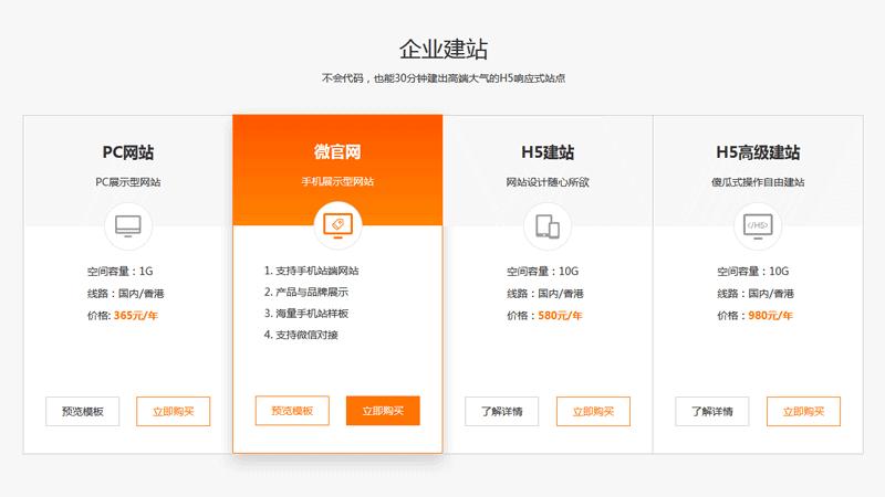 jQuery实用的企业建站产品网格布局代码