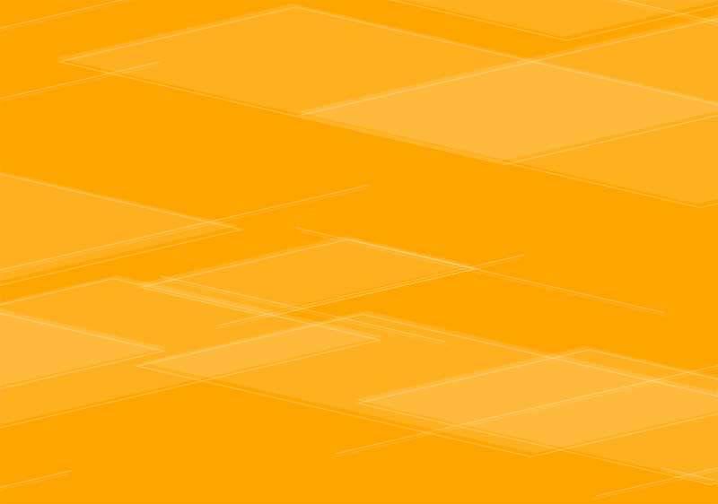 橙色的方块线条科技背景动画特效