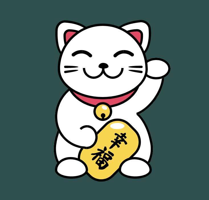 卡通招财猫动画特效