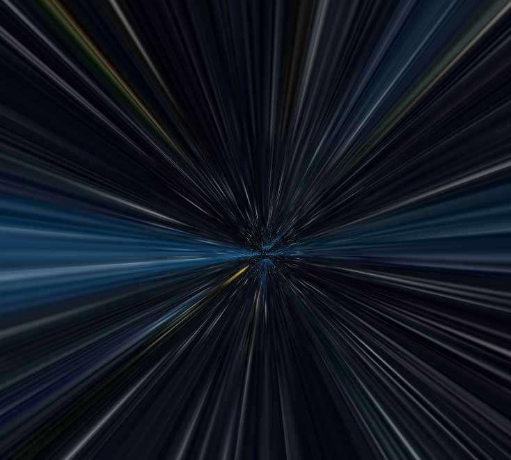 酷炫的时空穿梭线条背景特效