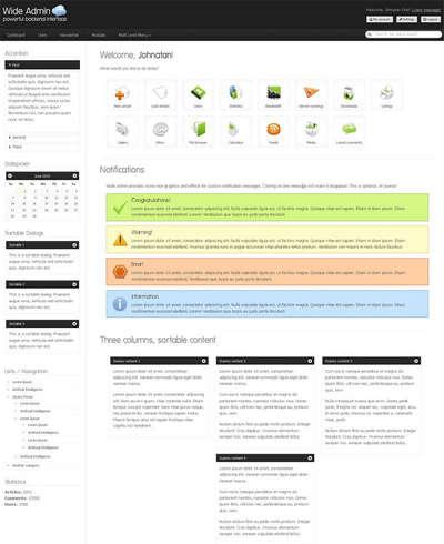 后台管理页面模板html下载