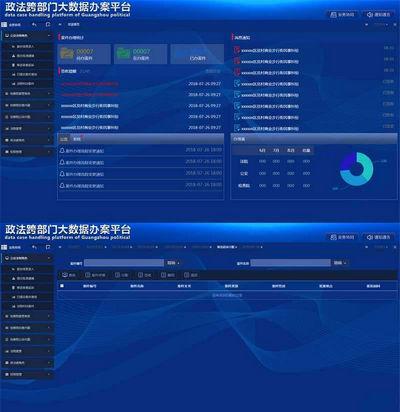 部门数据办公平台页面模板