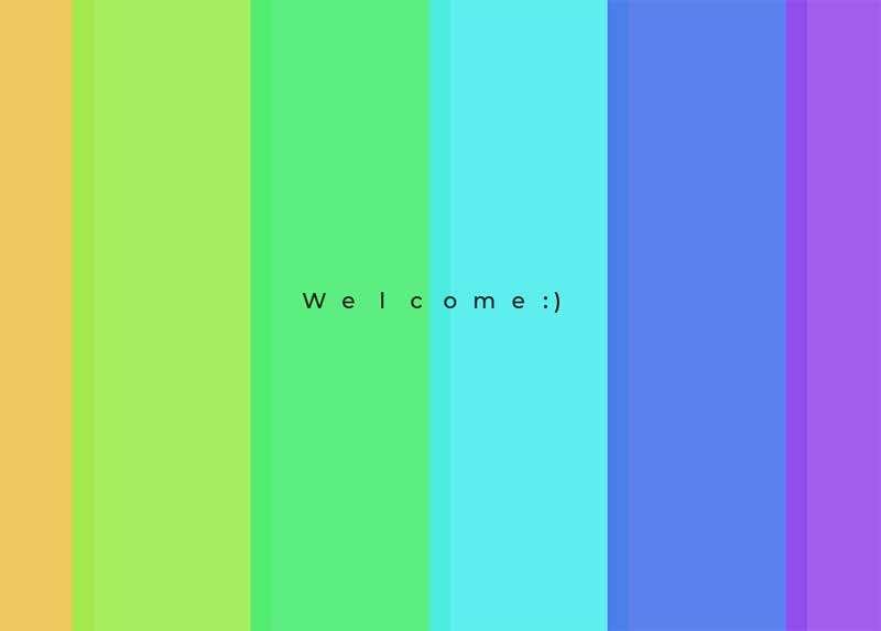 欢迎光临彩色文字动态特效