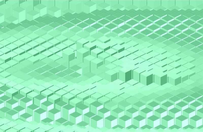 全屏的方块图案波纹动画特效
