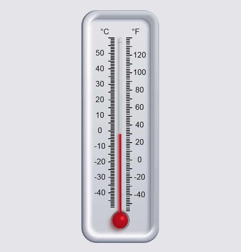 网页刻度温度计ui特效