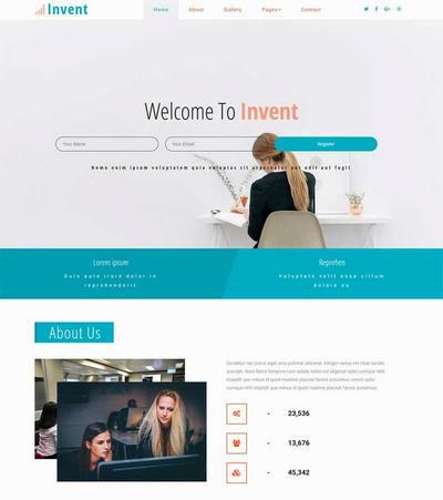 通用的商务服务公司html网站模板