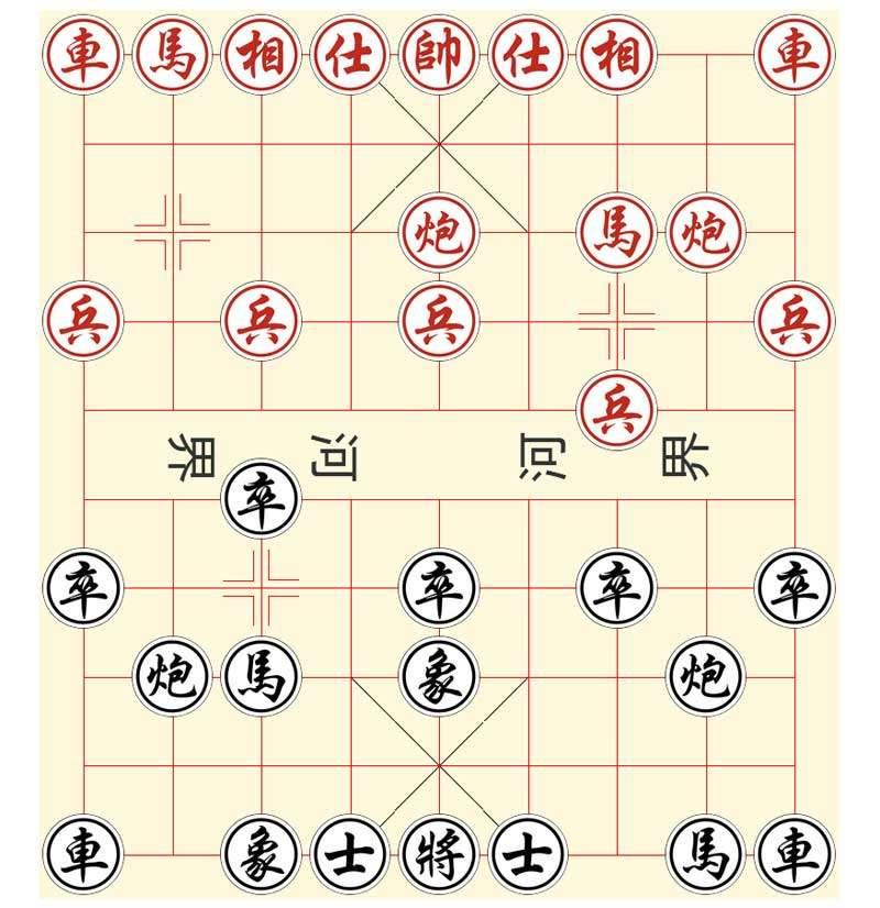 中国象棋ui布局特效