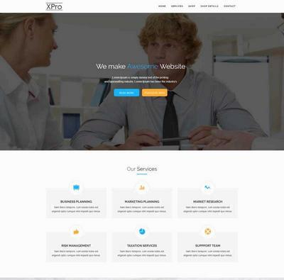 简洁创意产品设计公司网站html模板