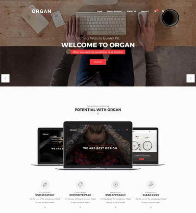 创意生活家居设计公司html网页模板