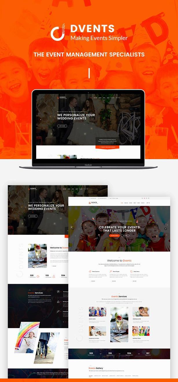 大气的服务活动策划公司网站html全站模板