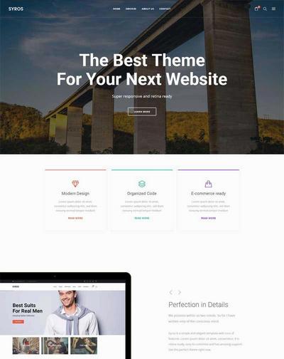 简洁大气web设计公司html5通用模板下载