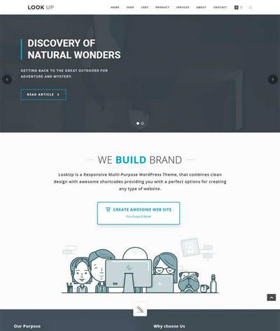 简洁响应式平面广告设计公司html模板