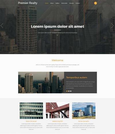 大气城市规划建设html网站模板下载