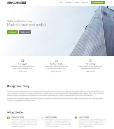 实用软件开发公司html整站网页模板
