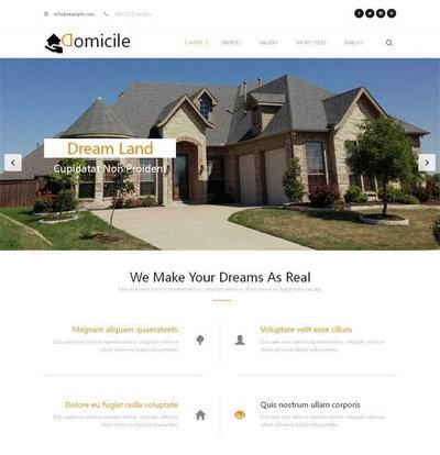 大气的房地产营销策划公司网站模板html下载
