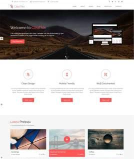 大气响应式html5广告设计公司通用网站模板